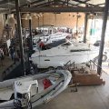 Spacious workshop at Magson Marine