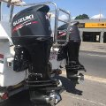 Pair of Suzuki DF140 outboards